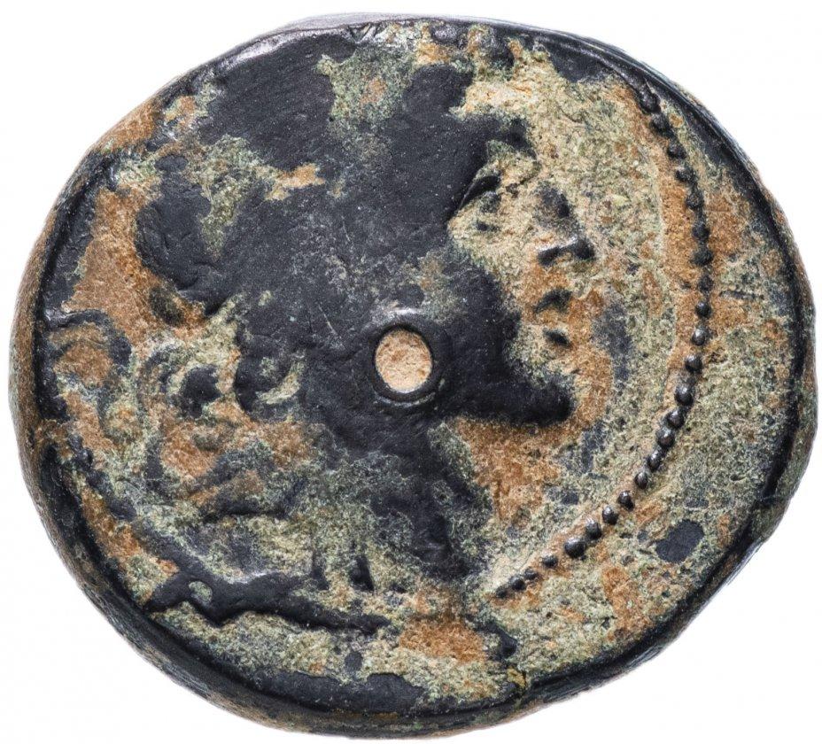 купить Государство Селевкидов, Александр I Балас, 150-145 годы до Р.Х., бронза. Г. Апамея