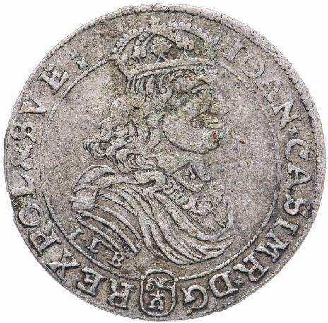 купить Речь Посполитая 1 орт 1668 гг. Ян II Казимир