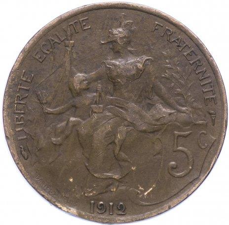 купить Франция 5 сантимов 1912