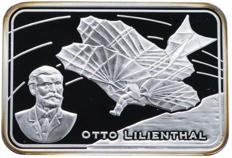 """купить Остров Ниуэ 1 доллар 2010 """"Как человек покорял небо - Отто Лилиенталь"""""""