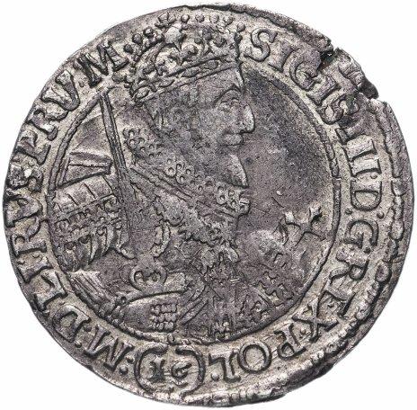 купить Быдгощ (Речь Посполитая) 1 орт 1618-1625 Сигизмунд III Ваза