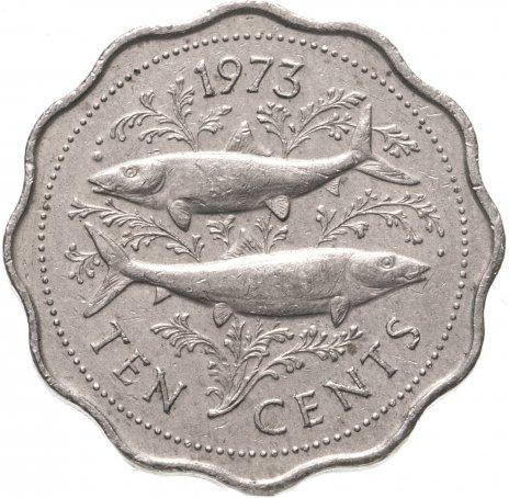 "купить Багамы 10 центов (cents) 1973 ""THE COMMONWEALTH OF THE BAHAMAS"""