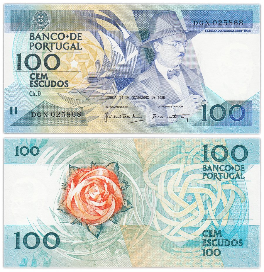купить Португалия 100 эскудо 1988
