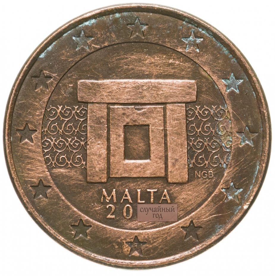 купить Мальта 5 евро центов (euro cent) 2008-2020, случайная дата