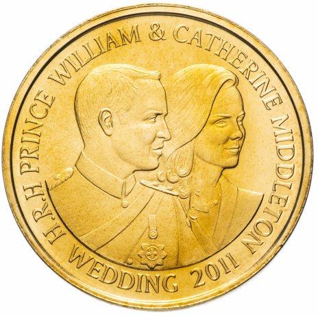 """купить Жетон """"Вестминстерское аббатство. Бракосочетание принца Уильяма и Кейт Миддлтон"""""""