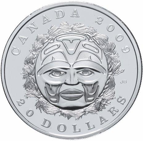 """купить Канада 20 долларов 2009 """"Маска"""""""