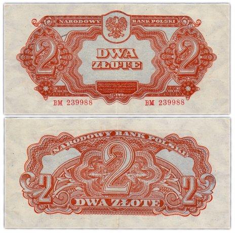 купить Польша 2 злотых 1944 (Pick 106)