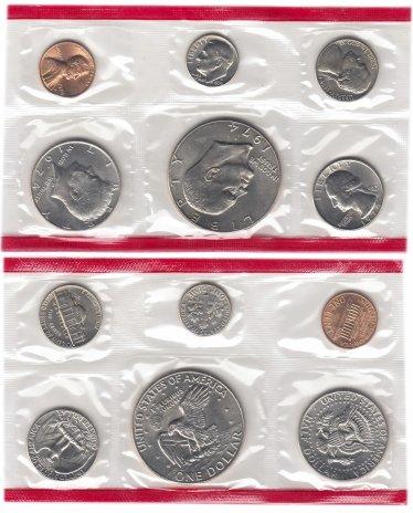купить США годовой набор 1974 D (6 монет)