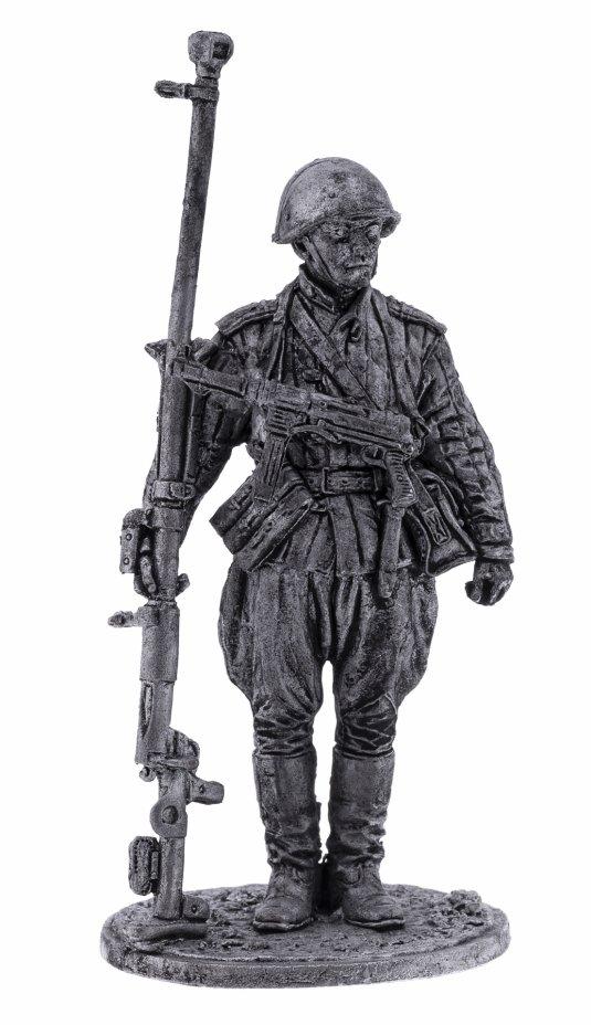 купить Оловянный солдатик, Наводчик противотанкового ружья младший сержант пехоты Красной Армии, 1943-45, Россия, 2021