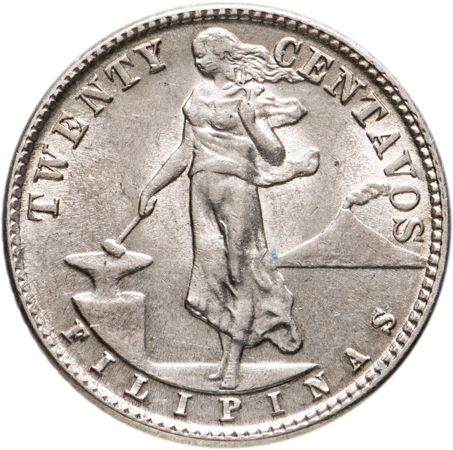 купить Филиппины 20 сентаво 1944