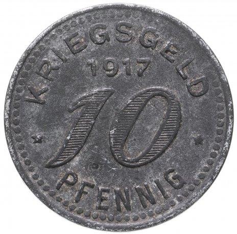 купить Германия, Бармен 10 пфеннигов 1917