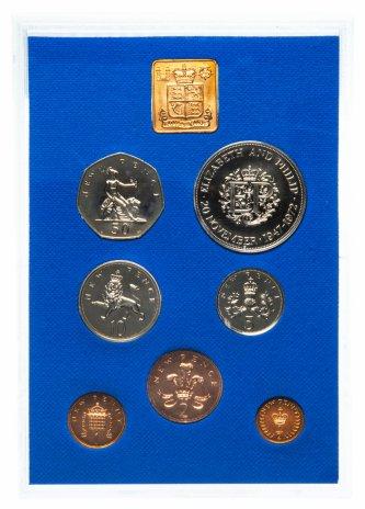 купить Великобритания годовой набор 1972 года в буклете