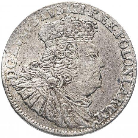 купить Польское королевство 6 грошей 1755 Август III