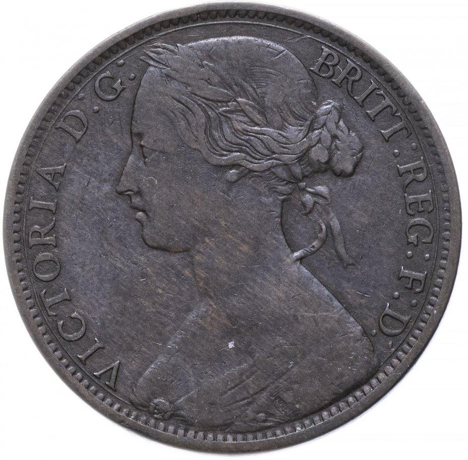 купить Великобритания 1 пенни 1863