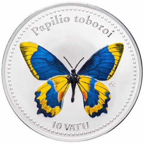 купить Вануату 10 вату 2006 Бабочки