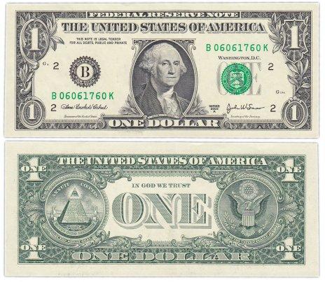 купить США 1 доллар 2003A (Pick 515b) B-Нью Йорк