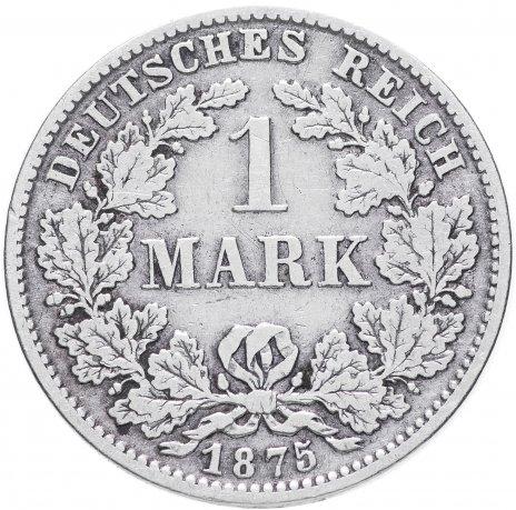 """купить Германия 1 рейх марка 1875 """"D"""""""