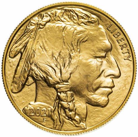 купить 50 долларов (dollars) 2021  Американский буффало (бизон) (American Buffalo)  США