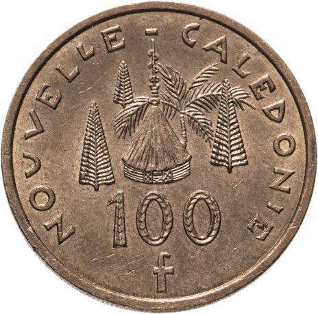 купить Новая Каледония 100 франков (francs) 2004