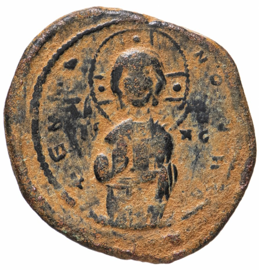 купить Византийская империя, Михаил IV Пафлагон, 1034-1041 годы, фоллис.
