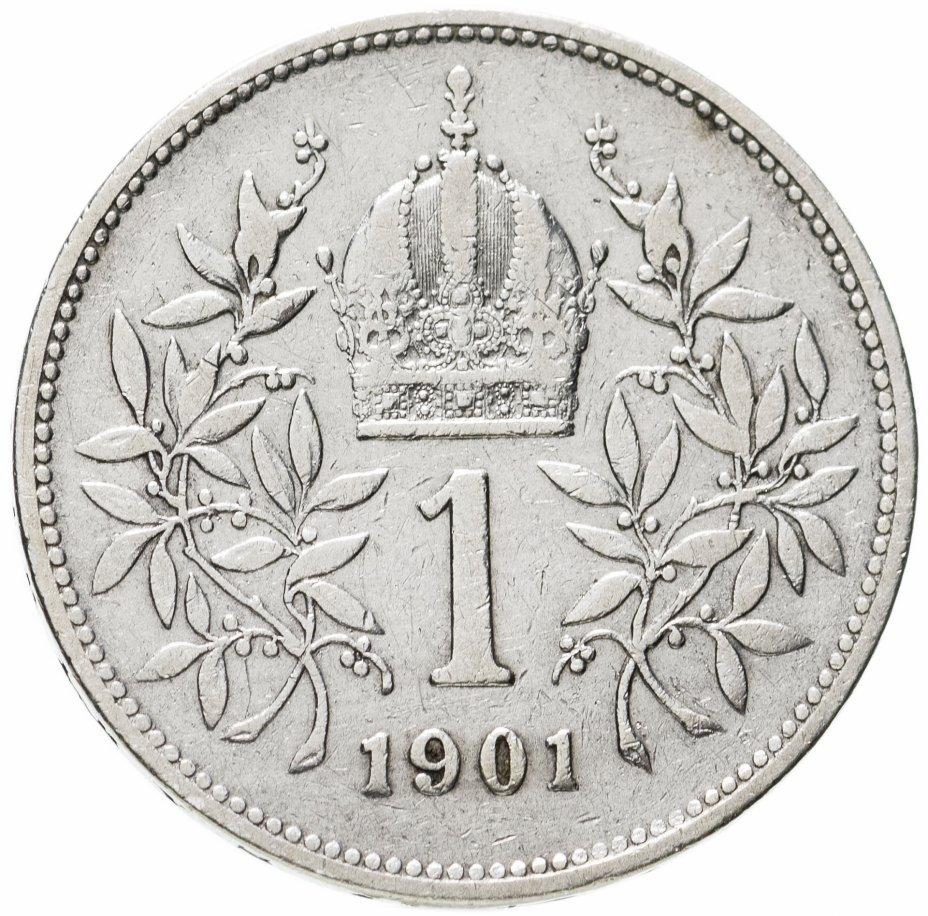 купить Австрия 1 крона (crown) 1901