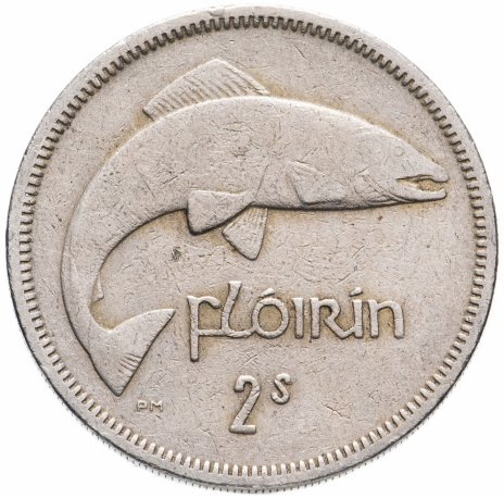 купить Ирландия 2 шиллинга (флорин, shillings) 1961-1966