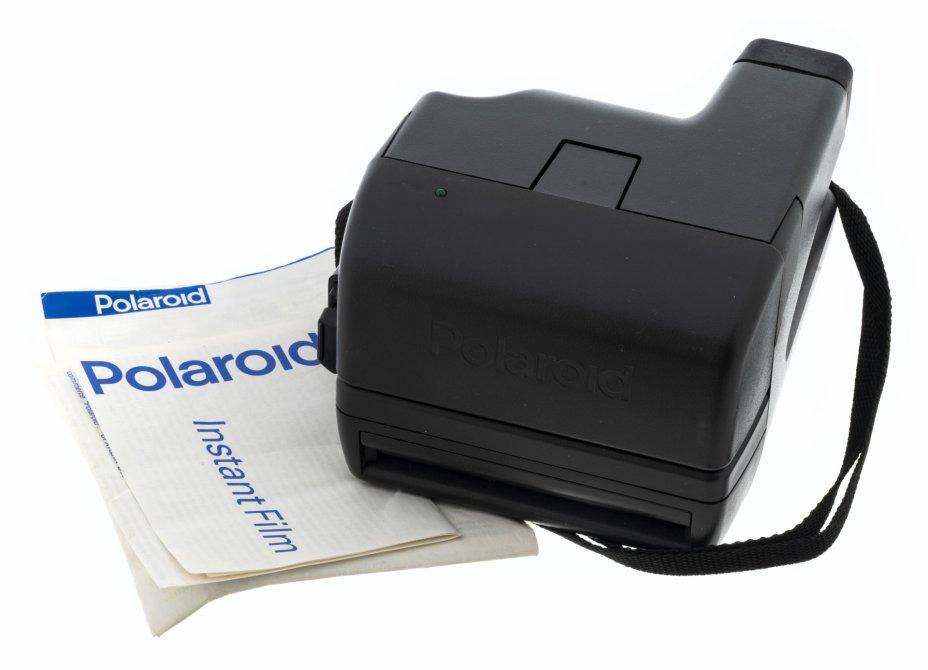 """купить Фотоаппарат мгновенной печати """"Polaroid 636 Close Up"""" в оригинальной коробке с инструкцией, пластмасса, Великобритания, 1980-1990 гг."""
