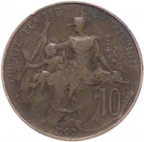 купить Франция 10 сантимов 1900