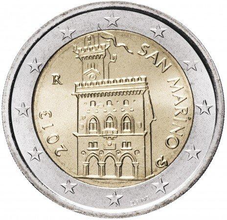 купить Сан-Марино 2 евро 2013