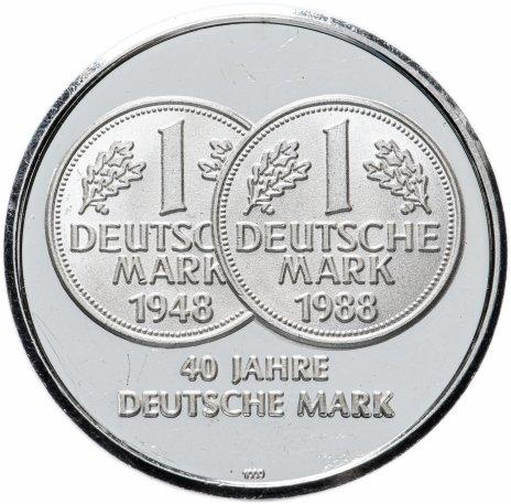 """купить Жетон """"40 лет немецкой марке, Германия"""""""