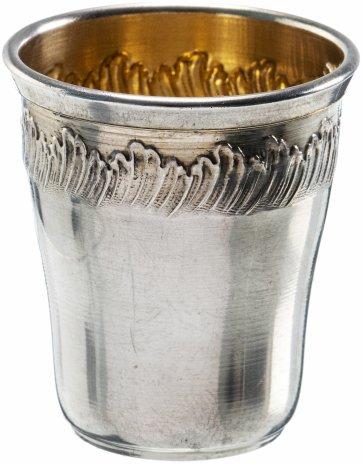 купить Стопка для крепких напитков, серебро 950 пр., золочение, Франция, 1900-1930 гг.