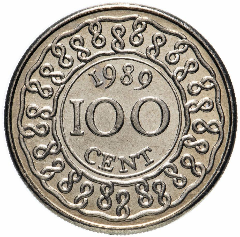купить Суринам 100 центов (cents) 1989