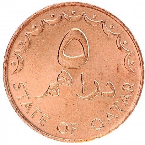 купить 5 дирхамов 1978 Катар