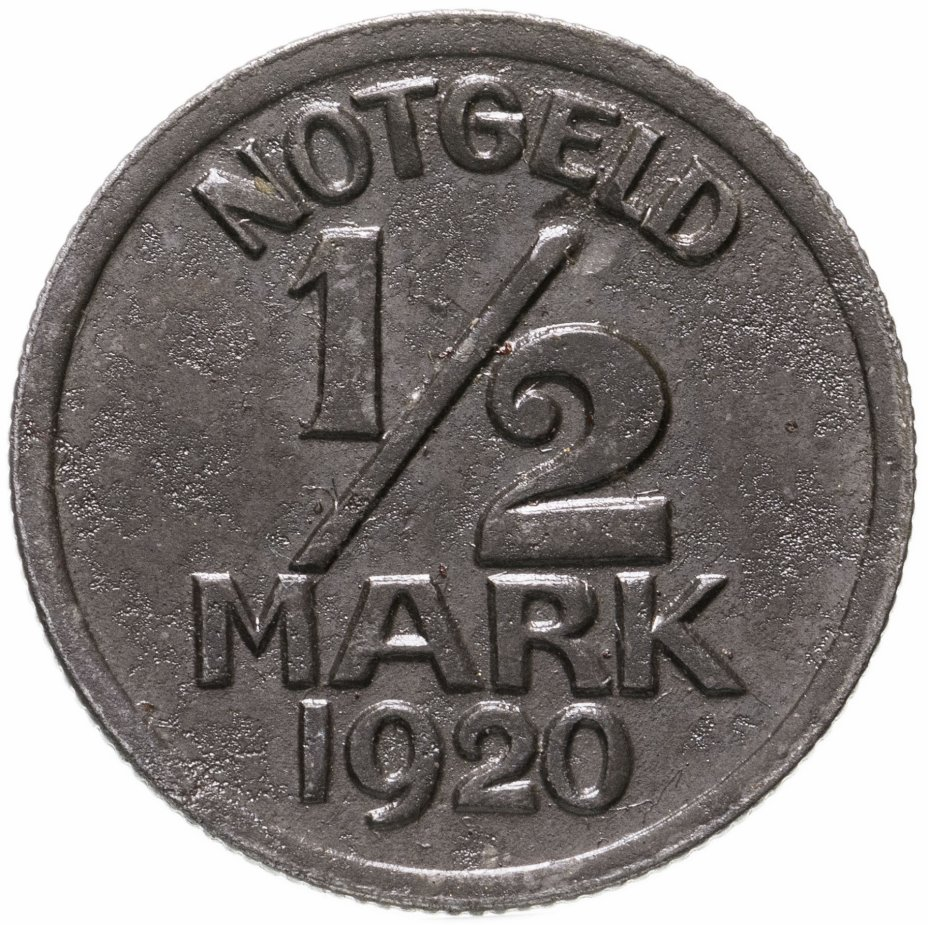 купить Германия (Варендорф), нотгельд 1/2 марки 1920