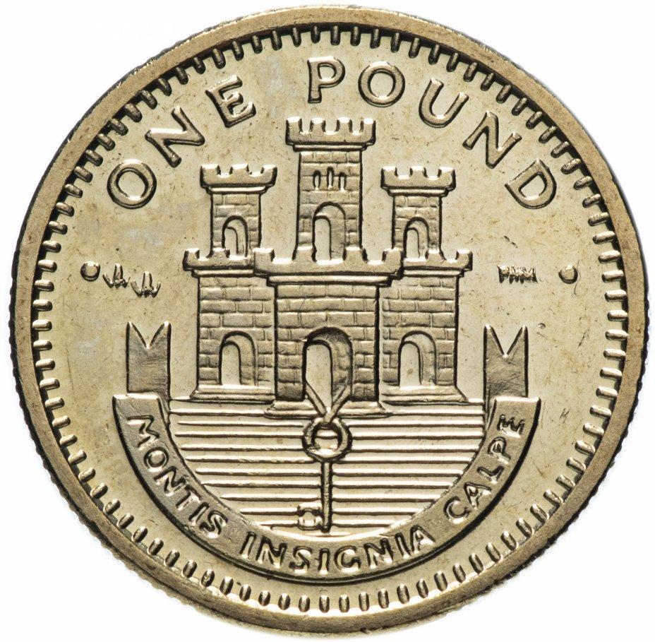 купить Гибралтар 1 фунт (pound) 2000