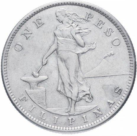 купить Филиппины (автономия в составе США) 1 песо 1907