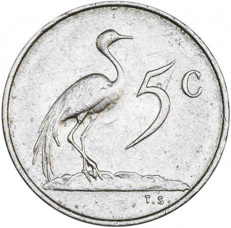 купить ЮАР 5 центов 1975