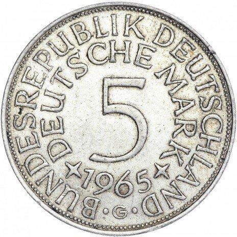 купить Германия 5 марок, 1965