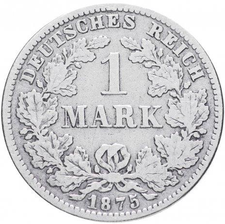 """купить Германия 1 рейх марка 1875 """"Е"""""""