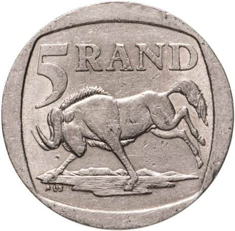 купить ЮАР 5рандов (рэндов, rand) 1994-1995