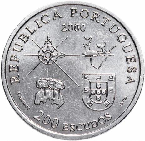 """купить Португалия 200 эскудо 2000 """"Земля Лабрадор"""""""