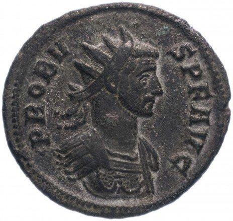 купить Римская Империя Проб 276–282 гг антониниан (реверс: Юпитер стоит, в руках - молнии и скипетр)