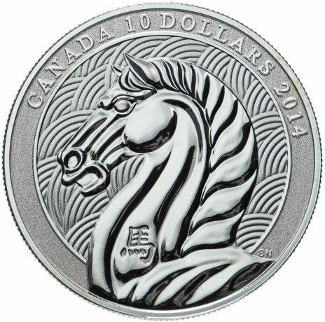 купить Канада 10 долларов 2014 «Лошадь»