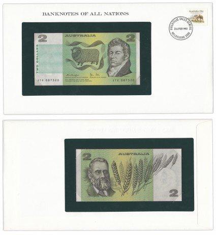 """купить Серия """"Банкноты всех стран мира"""" - 2 доллара Австралия 1979"""