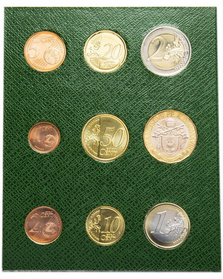 купить Ватикан годовой набор 2018 (9 монет в буклете) с монетой 5 евро