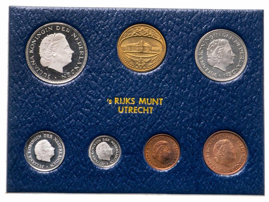 купить Нидерланды набор из 6 монет и жетона 1979