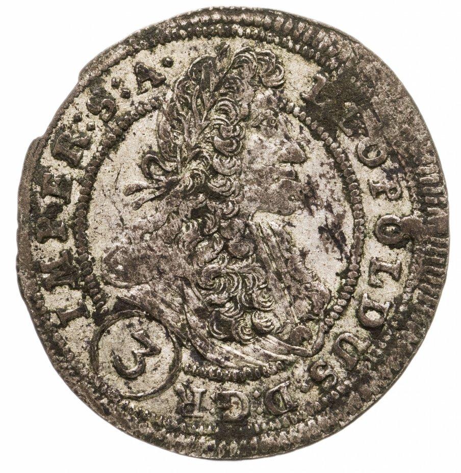 купить Богемия 3 крейцера (krajczar) 1702 Леопольд I