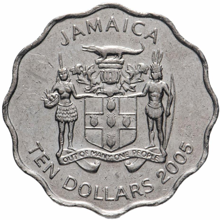 купить Ямайка 10 долларов 1999-2005 случайный год