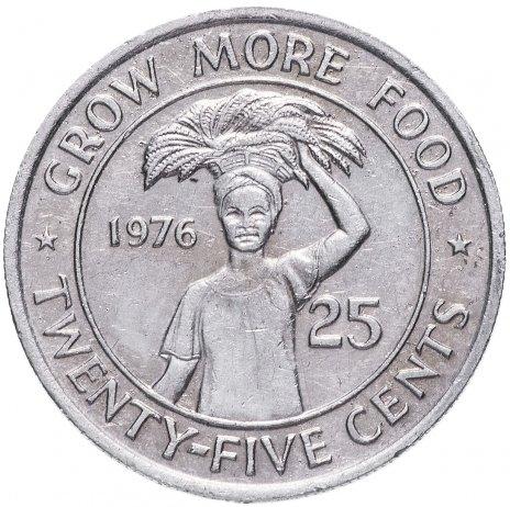 купить Либерия 25 центов 1976 FAO