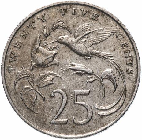 купить Ямайка 25 центов (cents) 1969-1990, случайная дата